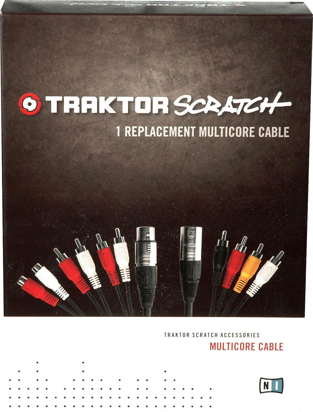 Native Instruments Traktor Scratch Multi Core Cable : Traktor scratch multicore cable native instruments