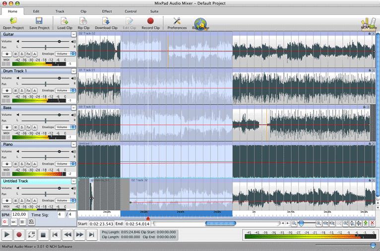 Promotion Sur La Stan Nch Software Mixpad Pour Mac Et