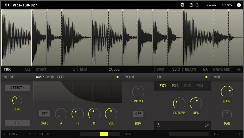 plug in et standalone de slicer de boucles new sonic arts vice pour mac et windows audiofanzine. Black Bedroom Furniture Sets. Home Design Ideas