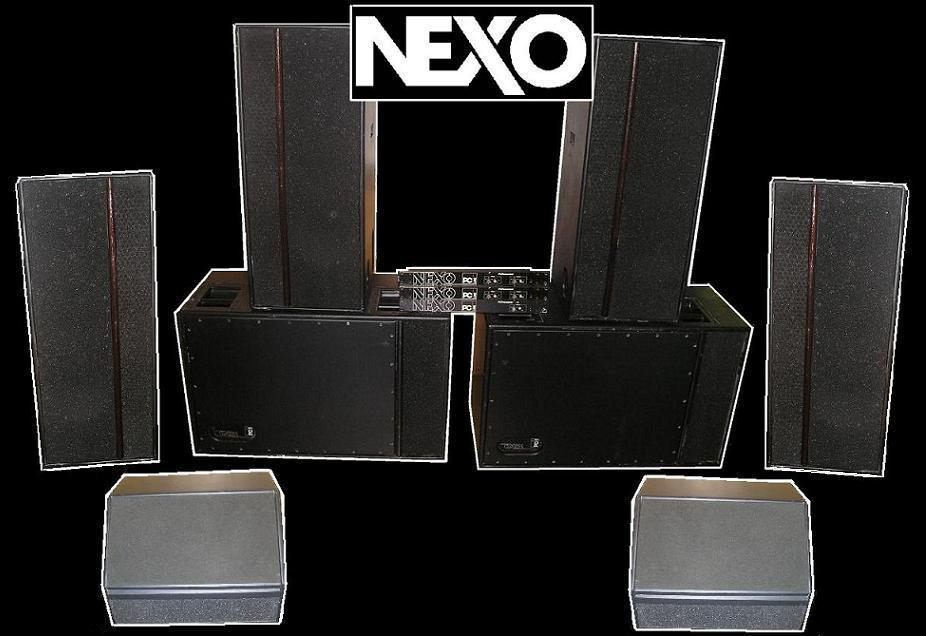 nexo pc 115w d 39 occasion audiofanzine. Black Bedroom Furniture Sets. Home Design Ideas