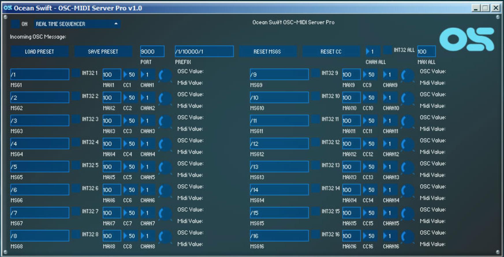 L'OSC Midi Server Pro à 1 € pendant une période limitée