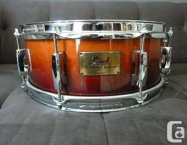 pearl session custom maple snare 14x5 5 image 919544 audiofanzine. Black Bedroom Furniture Sets. Home Design Ideas