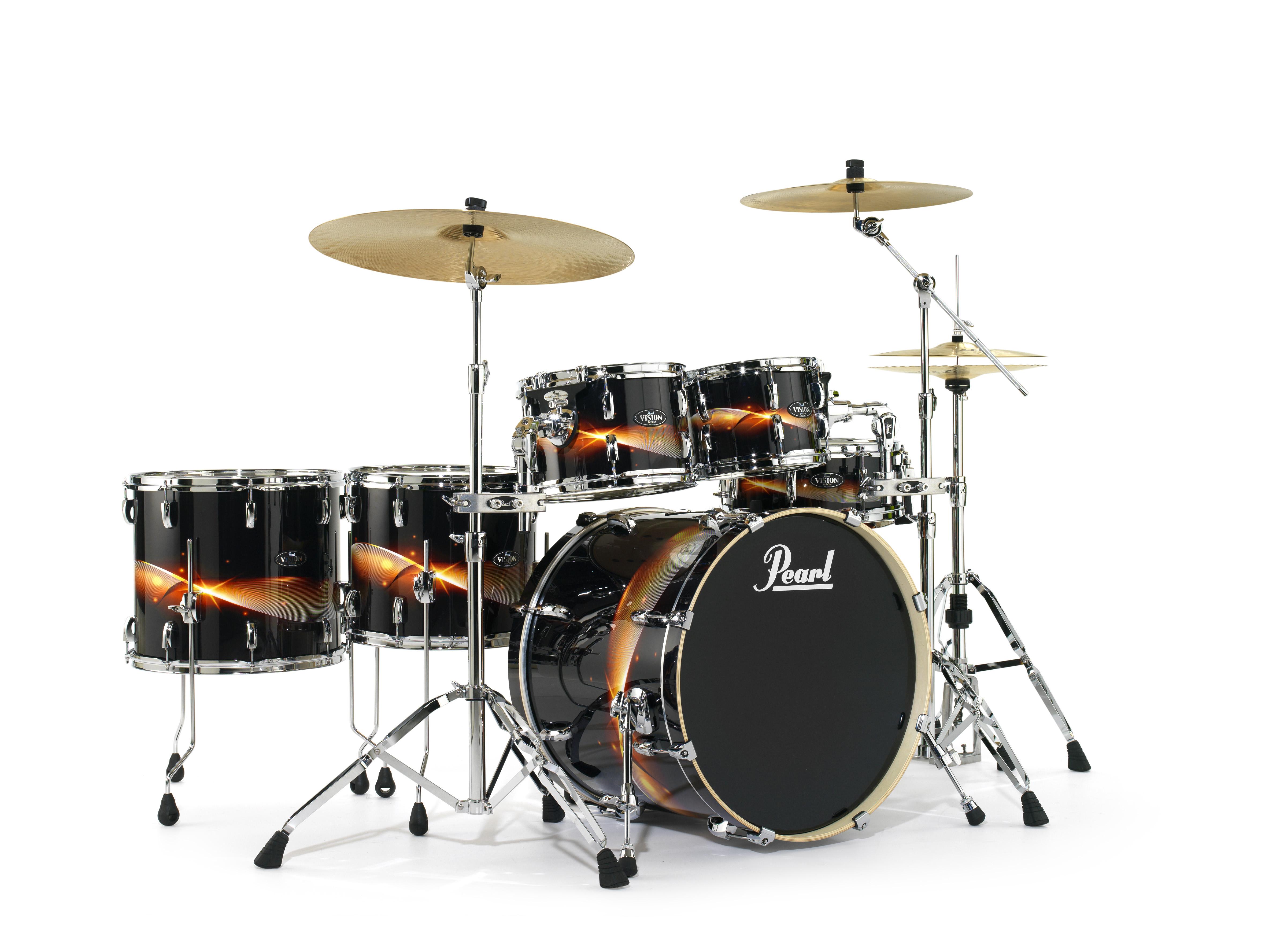 [Musikmesse] Pearl Vision VBA Drumsets News
