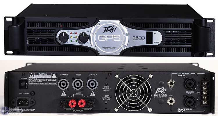 good gear reviews peavey gps 2600 audiofanzine rh en audiofanzine com Peavey 260C Monitor Manual Peavey 260C Monitor Manual