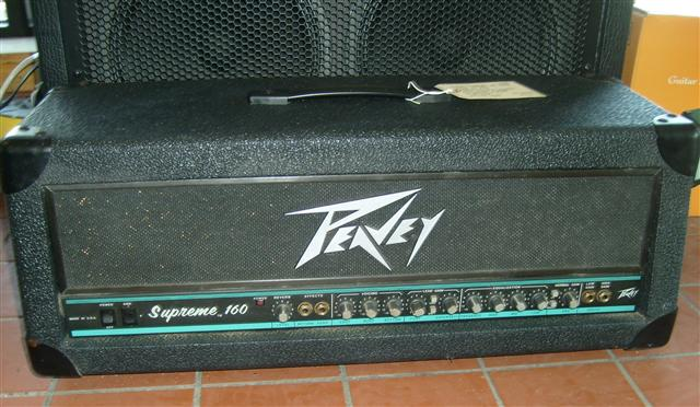 Peavey Supreme Guitar Head - Just Me And Supreme