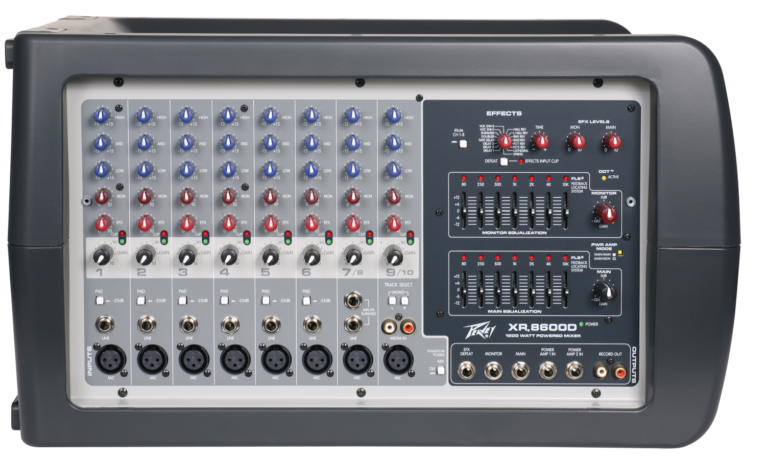 use with good mics reviews peavey xr 8600d audiofanzine rh en audiofanzine com peavey xr8600d schematic Peavey 1200 Mixer