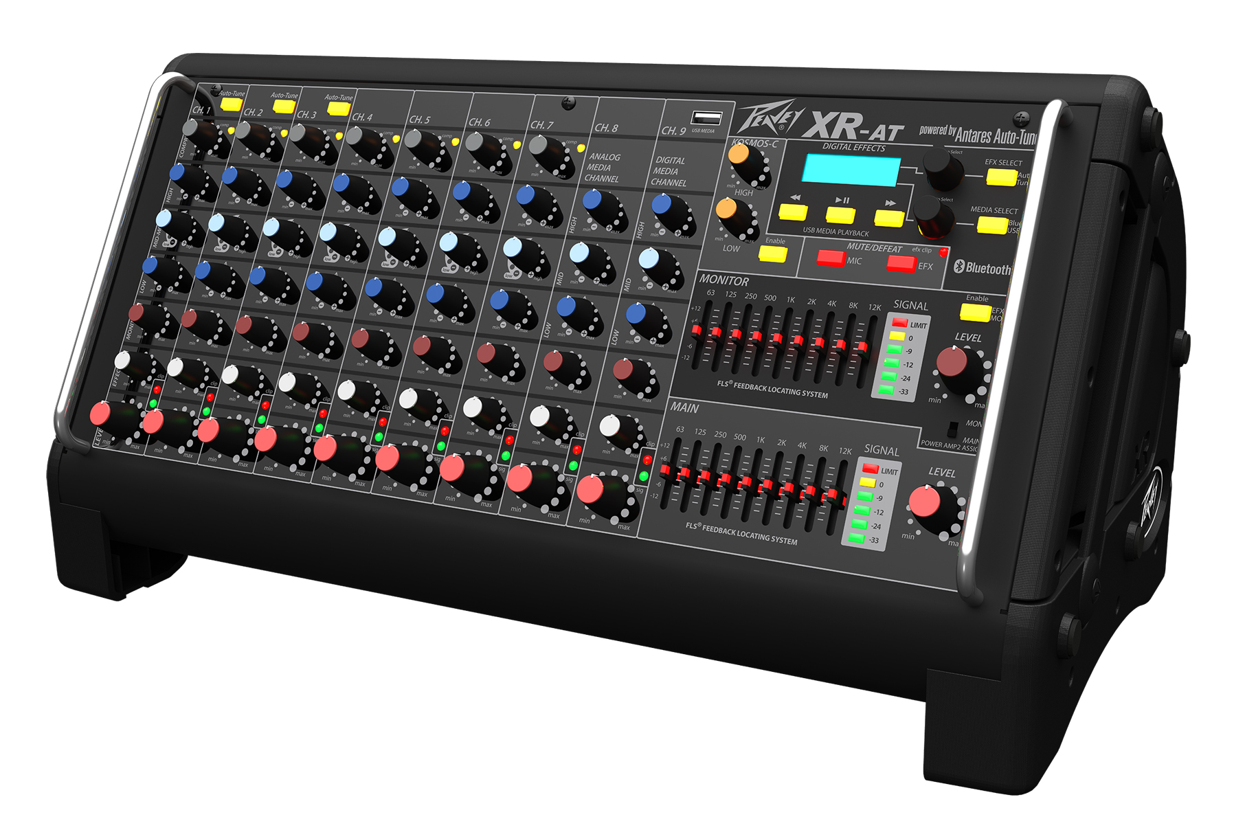 namm peavey xr at powered mixer news audiofanzine. Black Bedroom Furniture Sets. Home Design Ideas