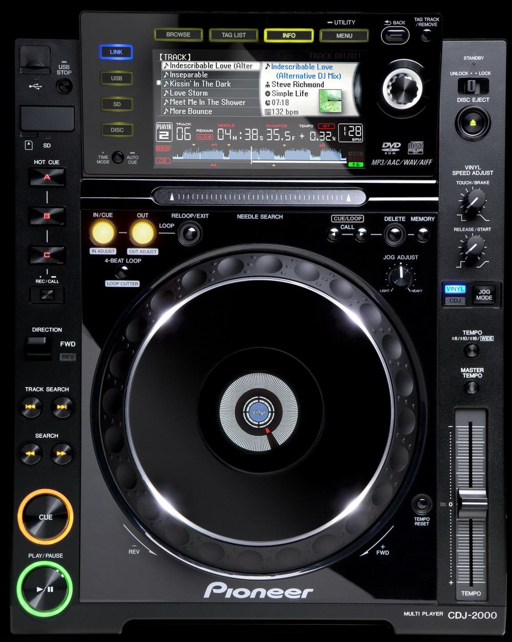 pioneer cdj 2000 nexus hd wallpaper