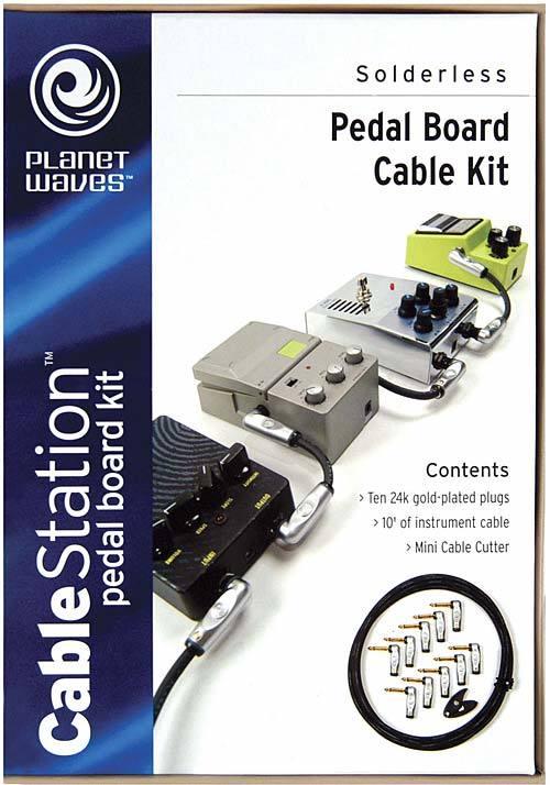 planet waves solderless pedal board cable kit gpkit 10 image 512868 audiofanzine. Black Bedroom Furniture Sets. Home Design Ideas