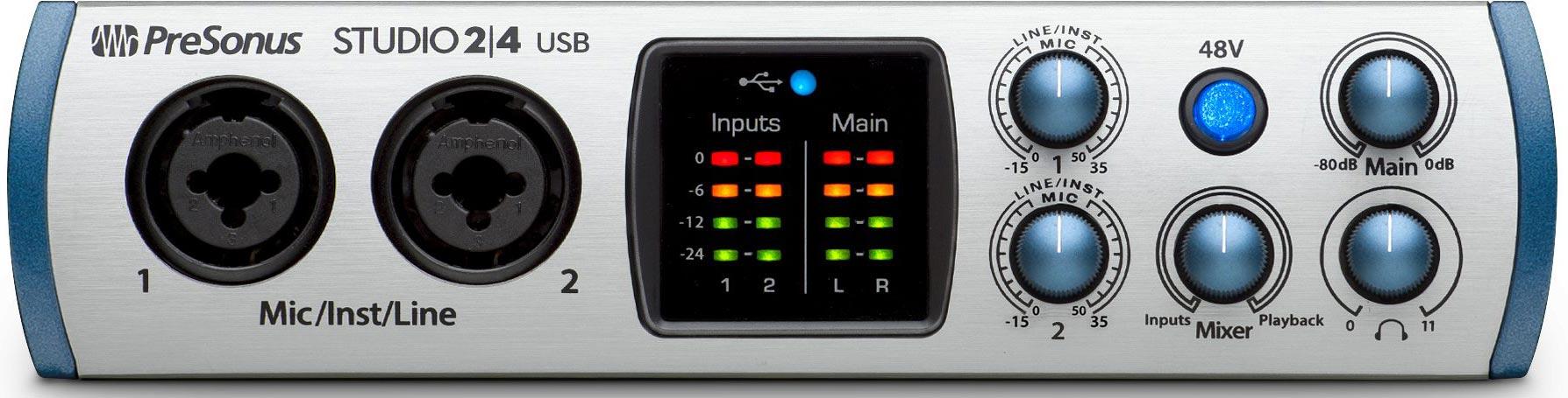 Une petite interface USB C chez PreSonus