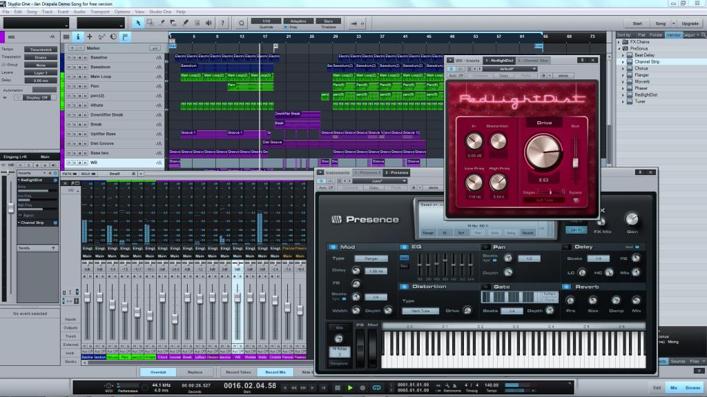Studio one 4 pro 4. 1. 0. 49247 free download pc wonderland.
