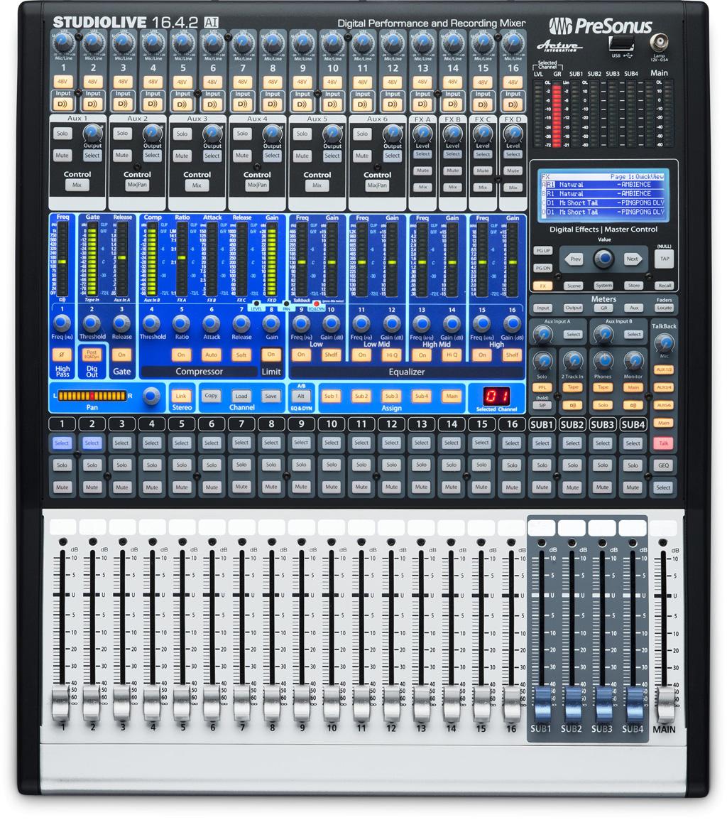 Studiolive 16 4 2ai : presonus studiolive 16 4 2 audiofanzine ~ Russianpoet.info Haus und Dekorationen