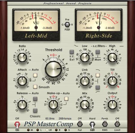 Audioware mastercomp psp