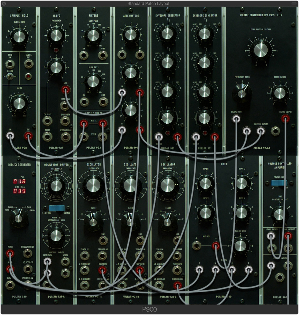 pulsar modular pulsar 900 series modular synthesizer video pulsar 900 series demo banshee in. Black Bedroom Furniture Sets. Home Design Ideas