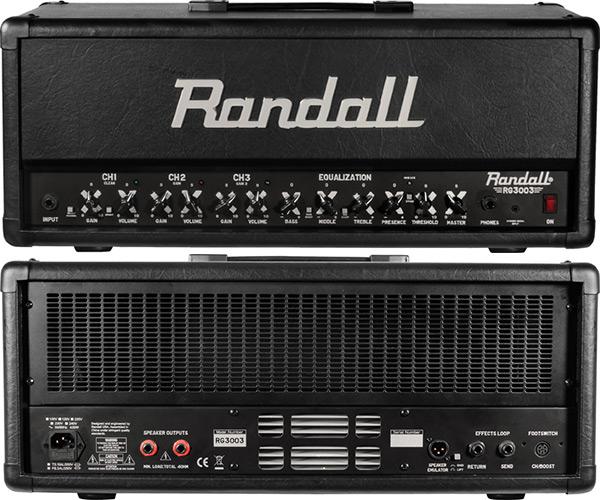 NAMM] Randall launches the RG Series guitar amps - Audiofanzine
