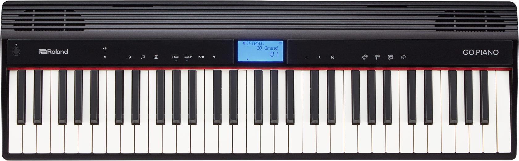 clavier et piano num rique pour d butant roland go keys et go piano instrument de musique. Black Bedroom Furniture Sets. Home Design Ideas
