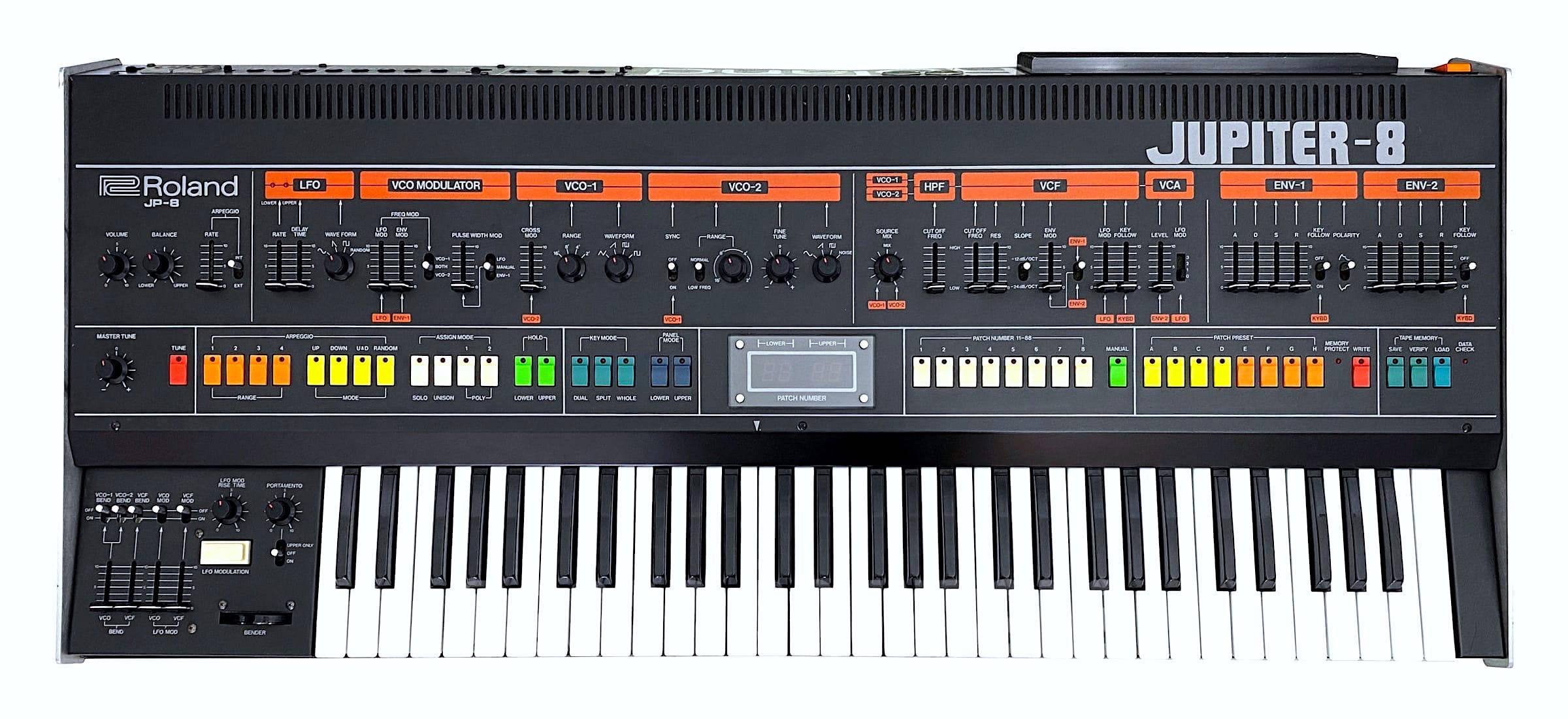 Videos Roland Jupiter-8 - Audiofanzine e223bd269aeb