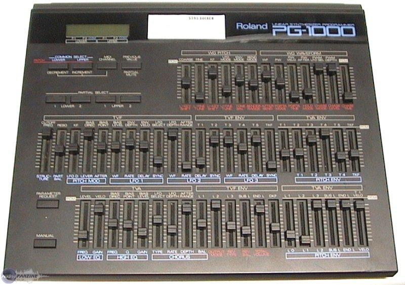 PG-1000 Synth Programmer