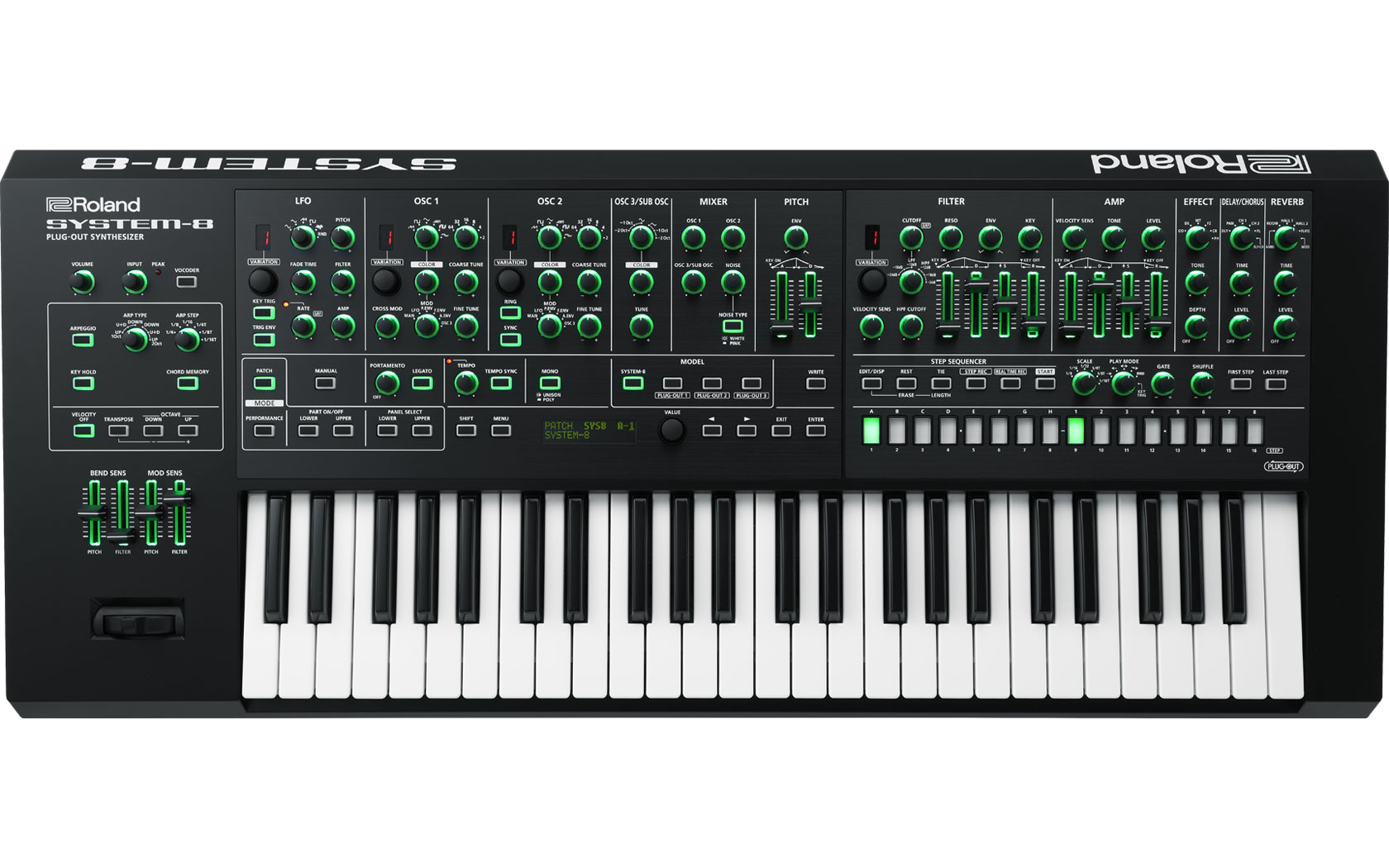 roland s big sound in a 4 in 1 synth reviews roland system 8