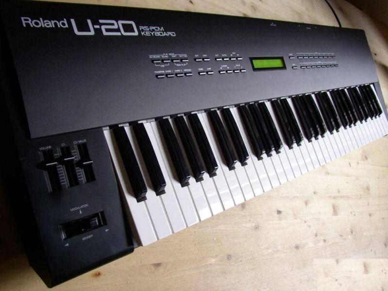 u 20 roland u 20 audiofanzine rh en audiofanzine com Roland at20s roland u20 rs-pcm keyboard manual