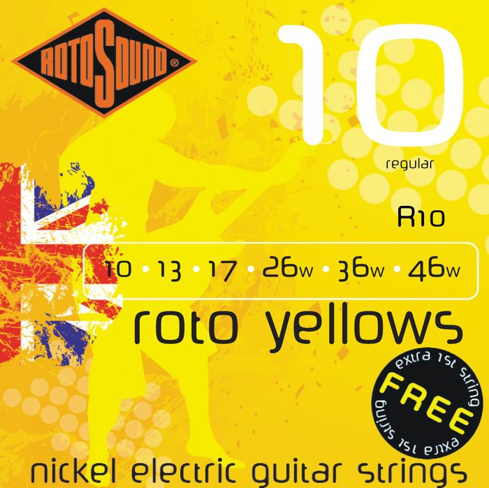 a quality nickel wound string reviews rotosound roto yellows r10 10 46 regular audiofanzine. Black Bedroom Furniture Sets. Home Design Ideas