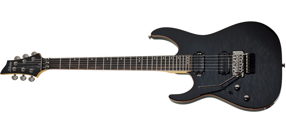 schecter banshee 6 fr passive guitare electrique