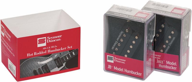 Hot Rodded Humbucker SH-4 and SH-2 Set Seymour Duncan - Audiofanzine