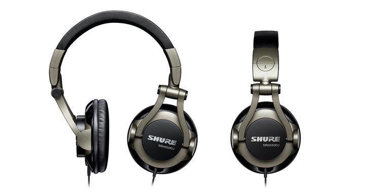 Buy Shure SRH550DJ - Audiofanzine 735bbd68a252
