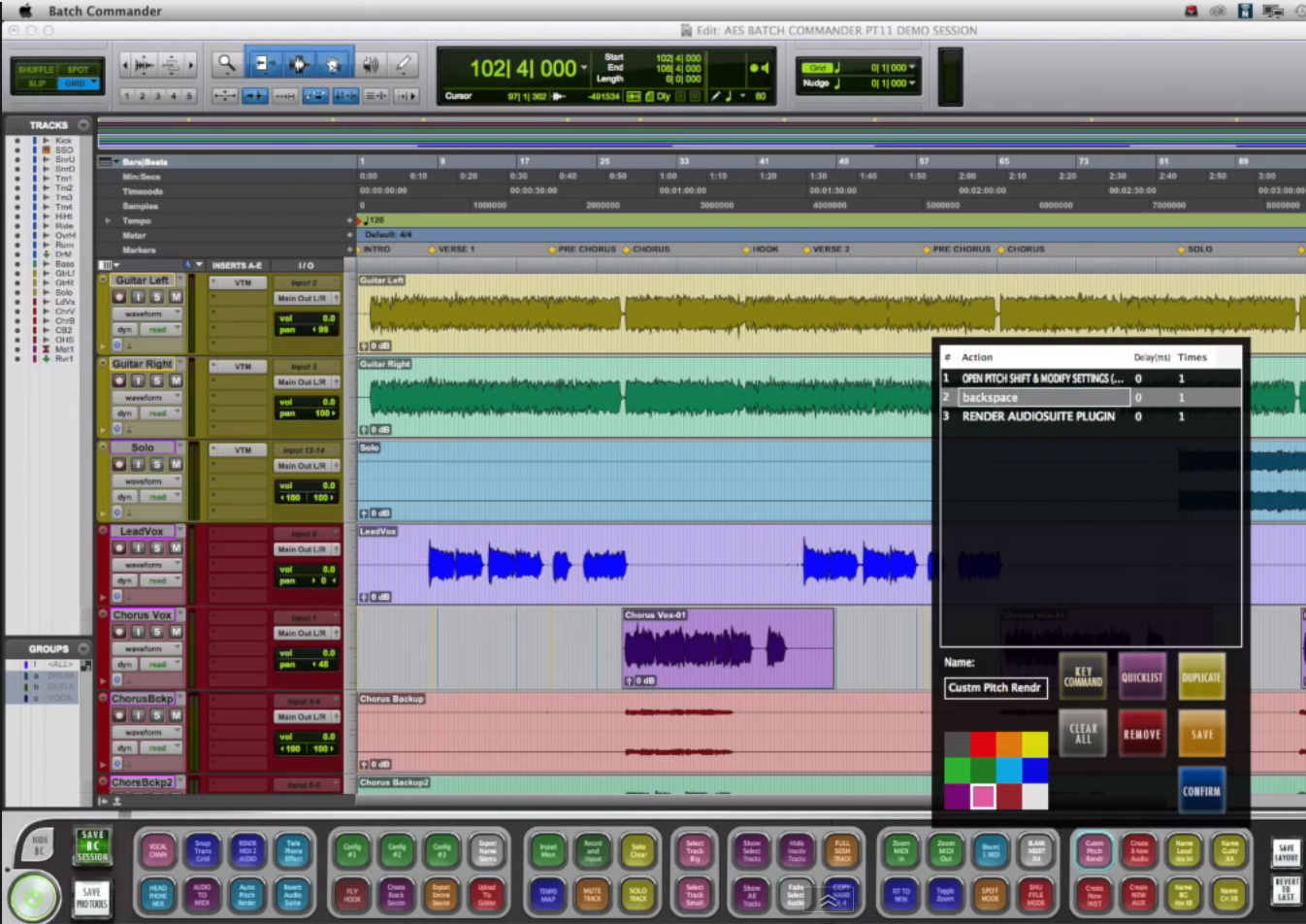 Video Slate Pro Audio Batch Commander Software for Pro Tools