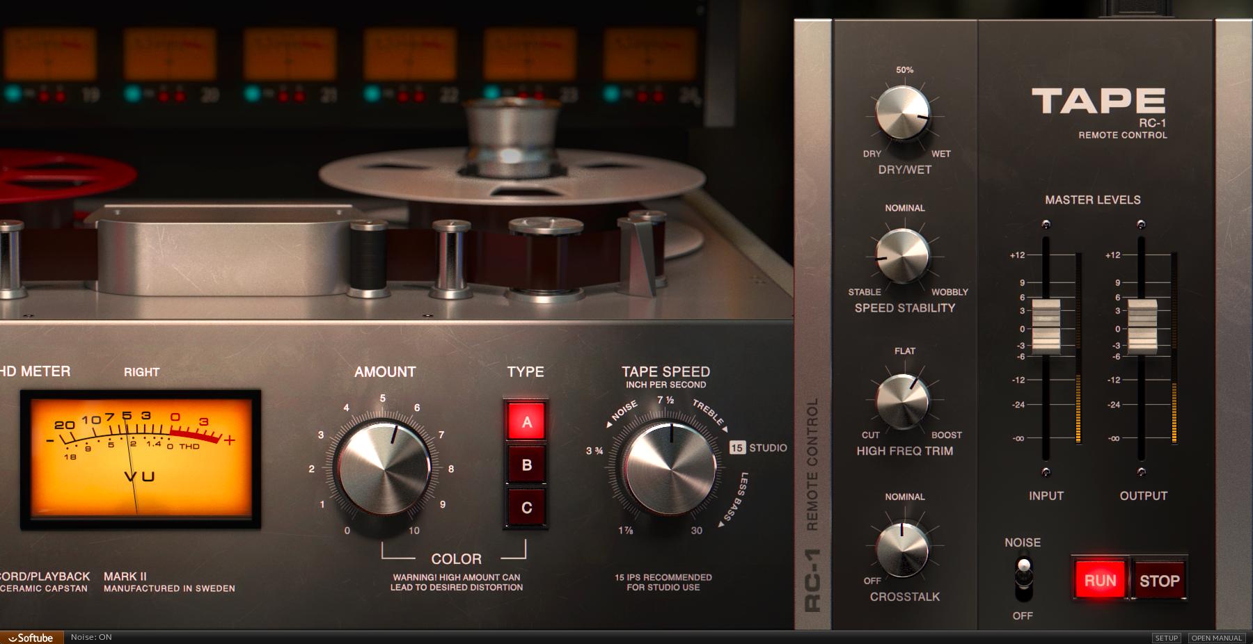 Tape et Model 72 en promo chez Softube