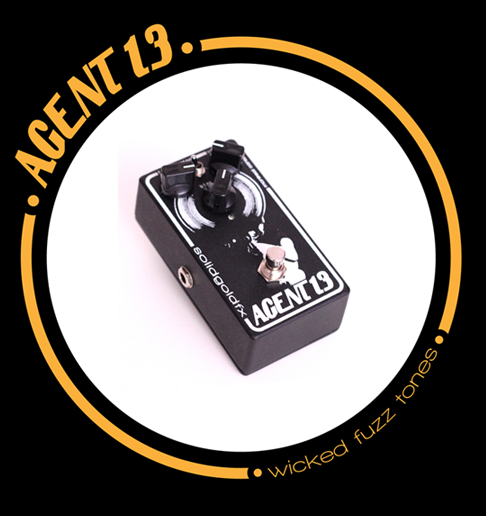 Solid gold fx agent 13 fuzz