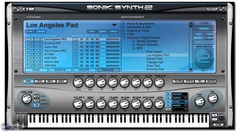 news namm de sonic synth sonik synth 2 audiofanzine. Black Bedroom Furniture Sets. Home Design Ideas