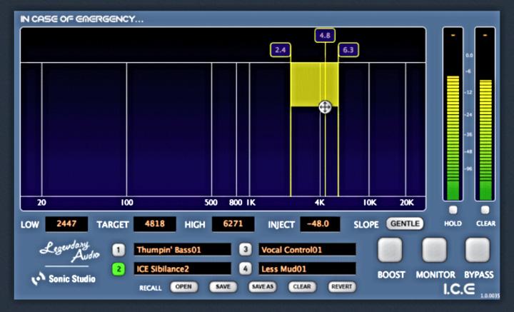 Videos Sonic Studio Legendary Audio I C E  - Audiofanzine