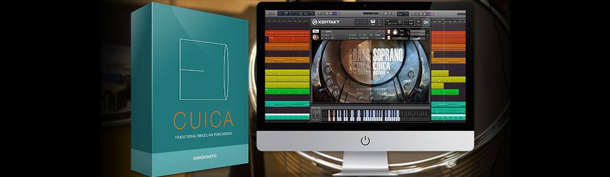 Sonokinetic offers Cuica library for free - Audiofanzine