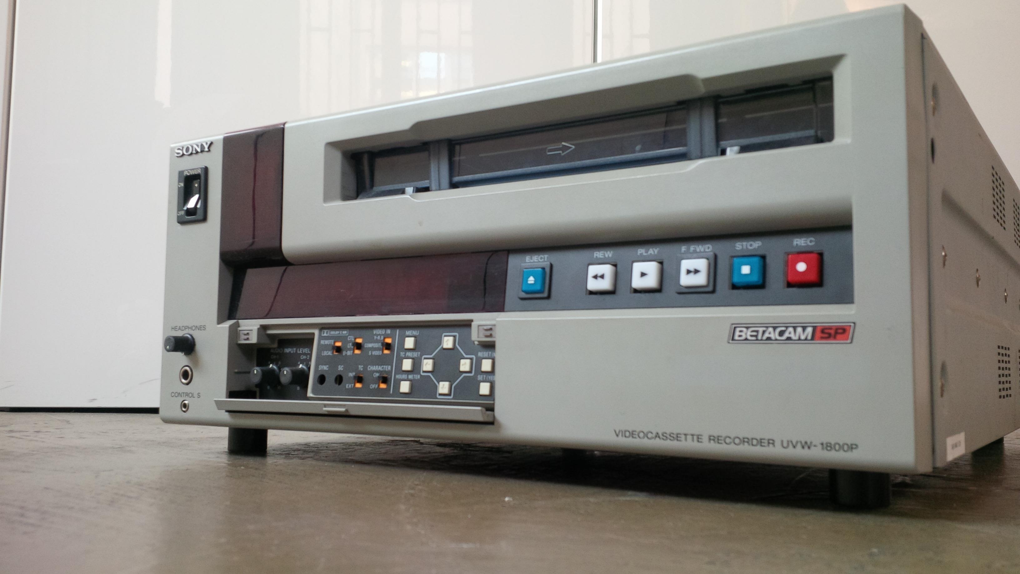Sony uvw 1800 manual.