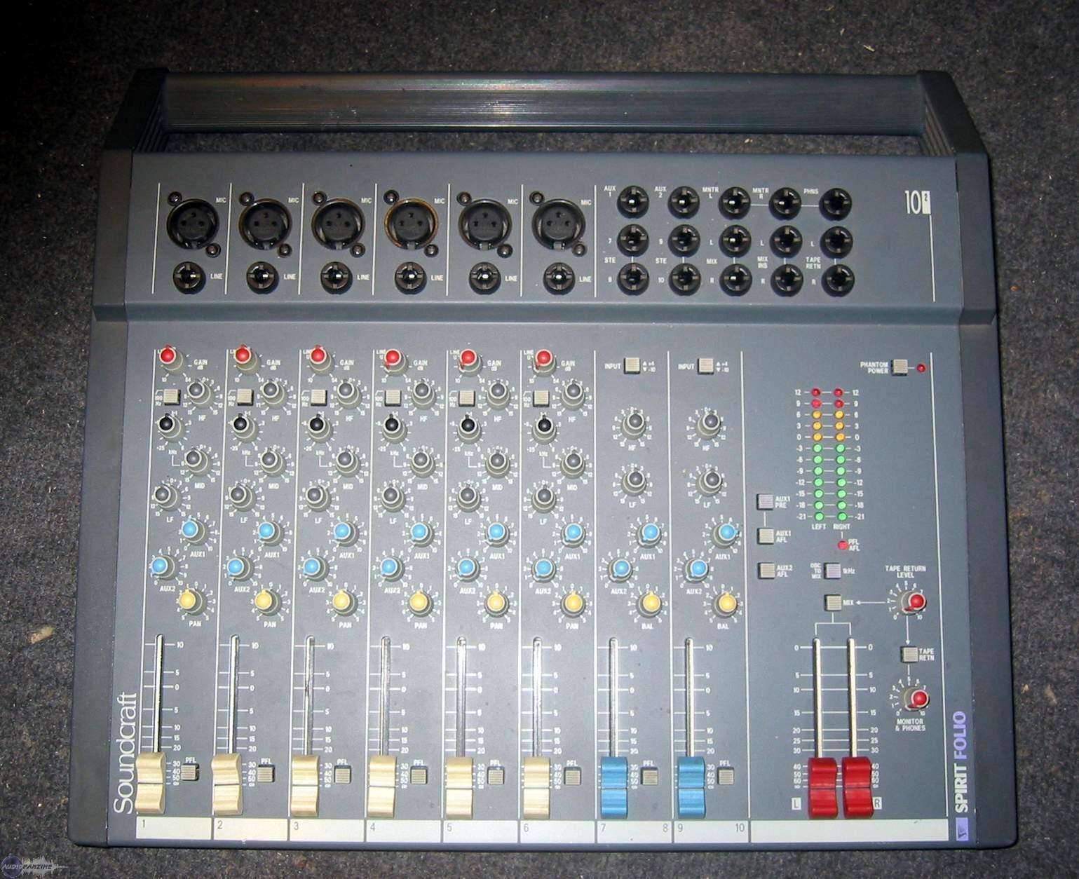 Super Pictures and images Soundcraft Spirit Folio 10/2 - Audiofanzine GE-67