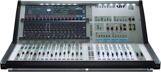 Vi1 Soundcraft Vi1 Audiofanzine