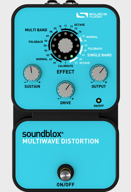 Soundblox Multiwave Distortion Source Audio - Audiofanzine
