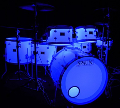 Spaun Drums LED Lighted Acrylic Drum Kit news