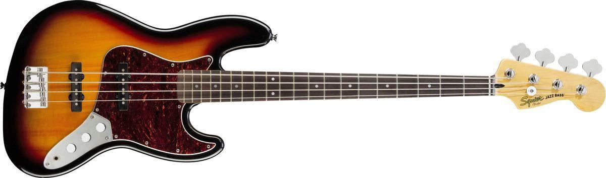 Vintage modifizierter Squier Jazz Bass