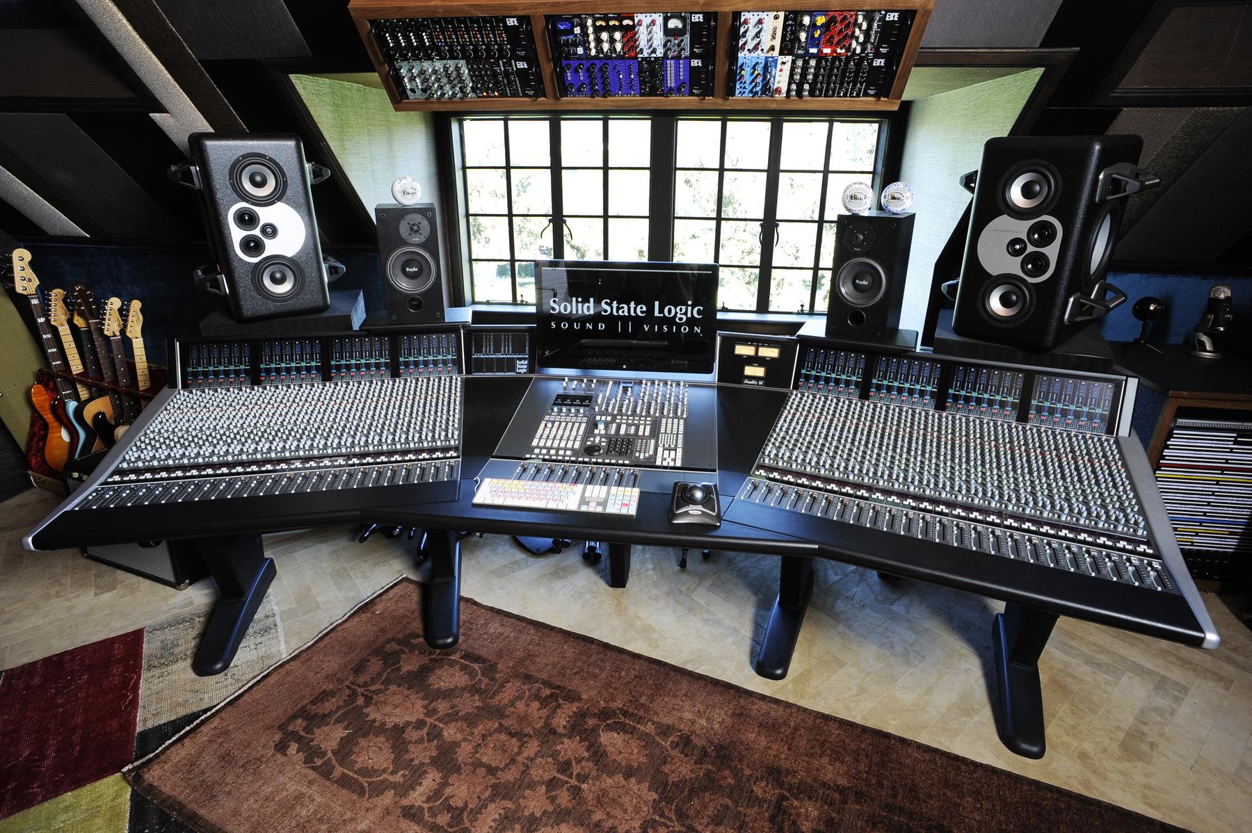 Aes Ssl Duality Pro Station With A Fada News Audiofanzine