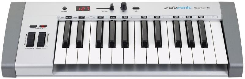 vends clavier ma tre midi usb swissonic easy key 25 tr s bon etat sous garantie sacoche. Black Bedroom Furniture Sets. Home Design Ideas