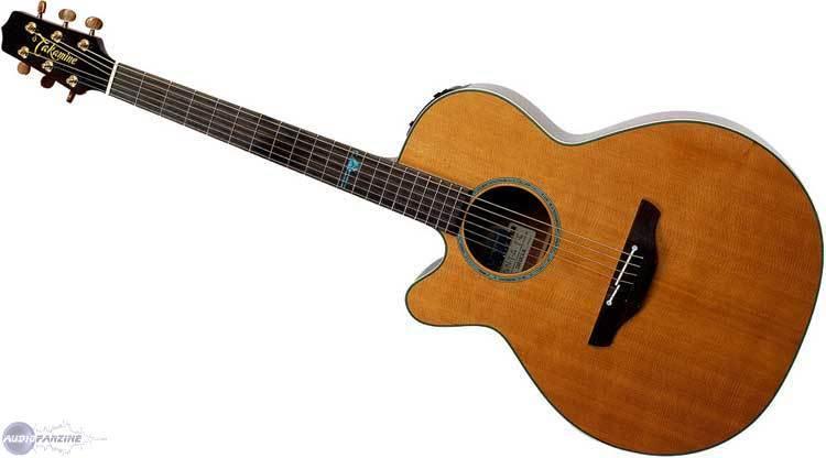 guitare gaucher takamine