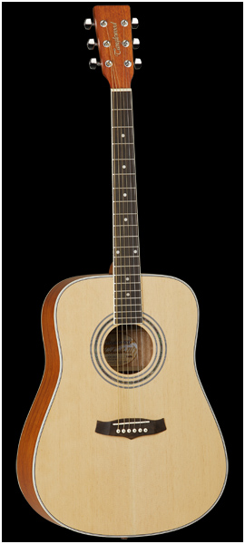 guitar light easy to play reviews tanglewood td8 audiofanzine. Black Bedroom Furniture Sets. Home Design Ideas