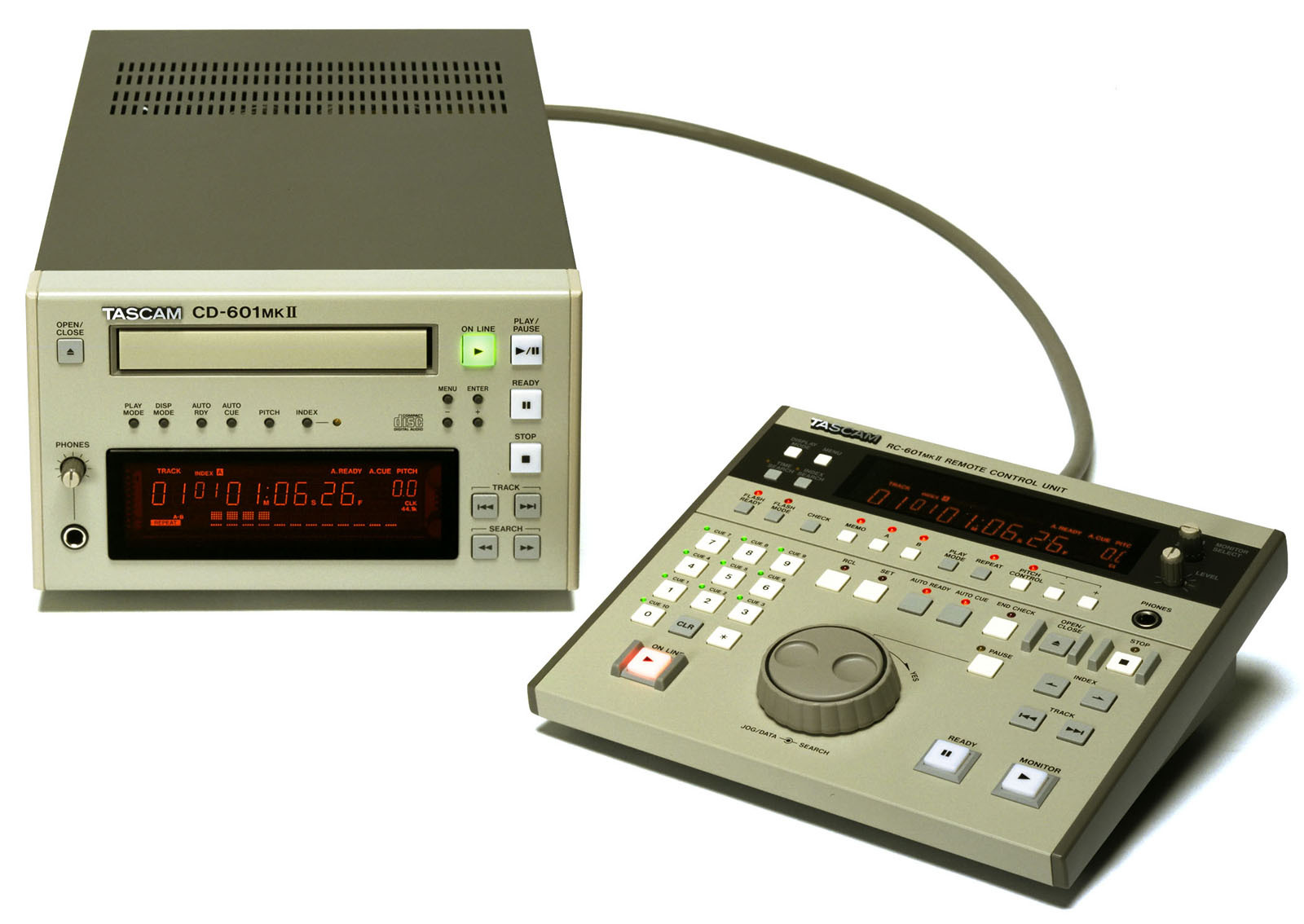 Pictures and images tascam cd-601 mkii audiofanzine.