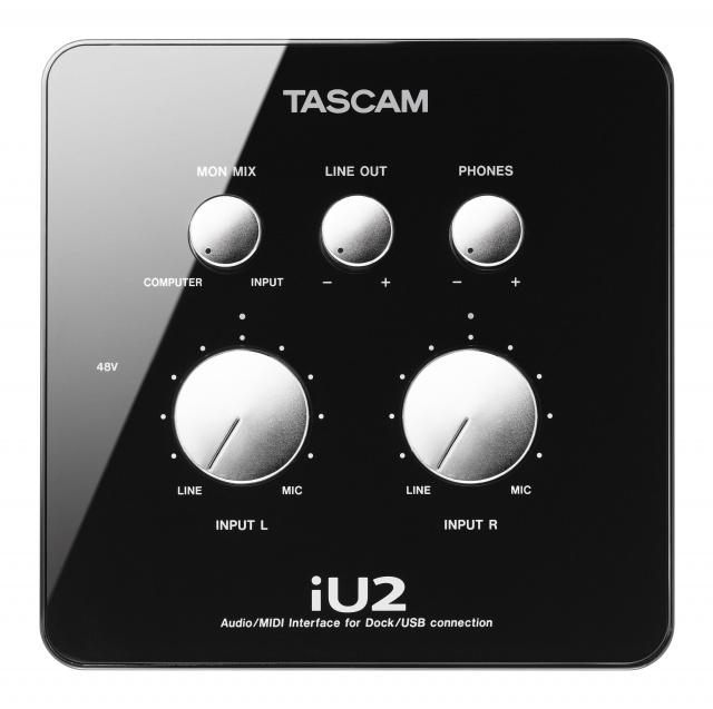 tascam iu2 audio midi interface for ios image 334700 audiofanzine. Black Bedroom Furniture Sets. Home Design Ideas