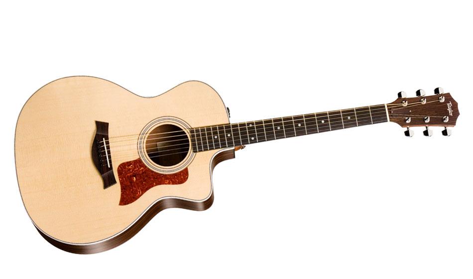 taylor 214 ce lh guitare folk