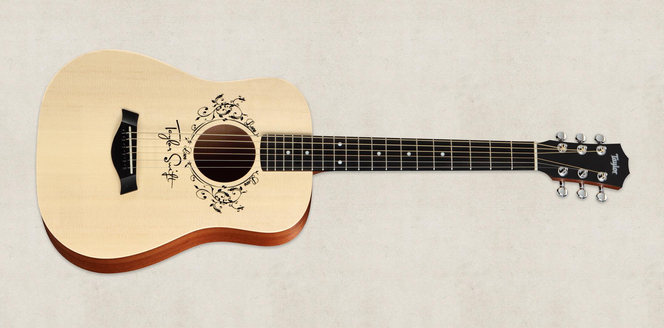 taylor signature tsbt taylor swift guitare acoustique