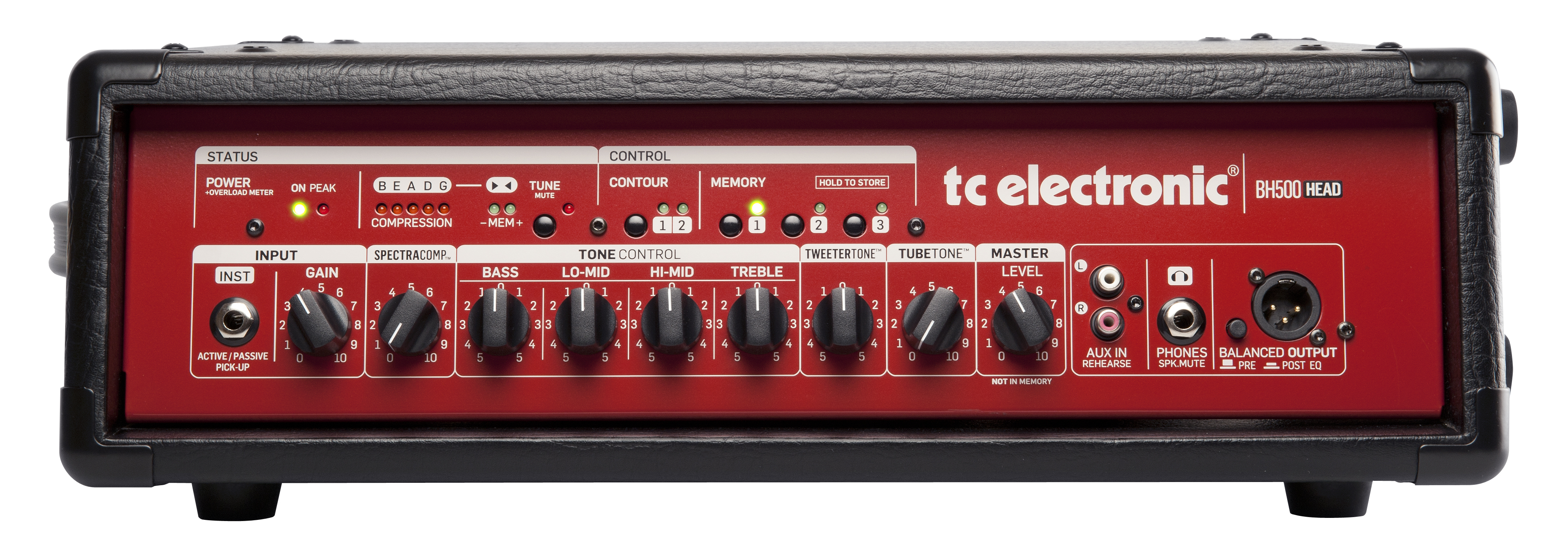 Tc Electronic Bh500 And Bc210 Review Red Peril In Denmark Accurate Bass Tone Control