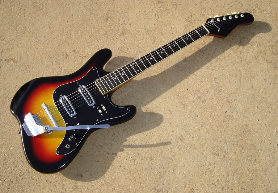 Dating a silvertone guitar 6